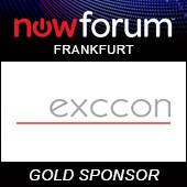 NowForum exccon Gold Sponsor NowForum 2017