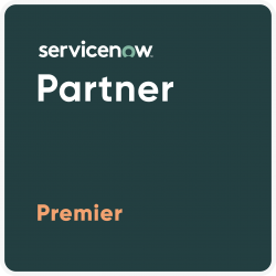 Partner Badge Premier - ServiceNow